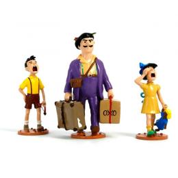 Figurines Tintin - Séraphin et ses enfants - Moulinsart