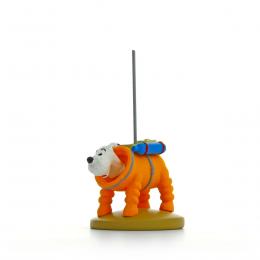 Figurine Tintin - Milou cosmonaute - Moulinsart
