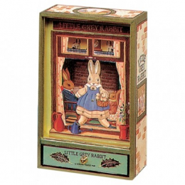 Boite à musique verte Little Grey Rabbit Trousselier