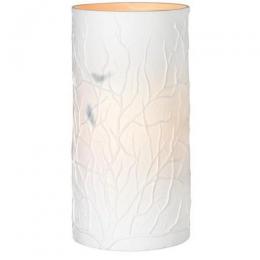 Lampe en porcelaine cylindrique Räder