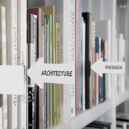Serre livres "ICI - création CrousCalogero" Pa design