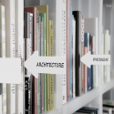 "Serre livres ""ICI - création CrousCalogero"" Pa design"