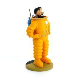 Figurine Tintin - Haddock cosmonaute - Moulinsart