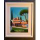 """Affiche tirage d'Art """"La villa Noailles Hyères"""" Monsieur Z."""