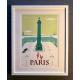 """Affiche tirage d'Art """"Place Vendome Paris"""" Monsieur Z."""