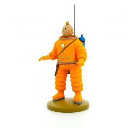 Figurine Tintin cosmonaute - Moulinsart