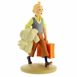 Figurine Tintin en route - Moulinsart