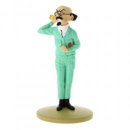 Figurine Tintin - Tournesol au cornet - Moulinsart