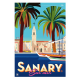 """Affiche tirage d'Art """" Sanary """" Monsieur Z."""