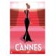 """Affiche tirage d'Art """"Cannes Festival"""" Monsieur Z."""