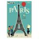 """Affiche tirage d'Art """"Paris Tour Eiffel"""" Monsieur Z."""