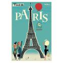 """Affiche tirage d'Art """" Paris Tour Eiffel """" Monsieur Z."""
