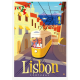 "Affiche tirage d'Art "" Lisbon "" Monsieur Z."