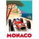 """Affiche tirage d'Art """" Monaco """" Monsieur Z."""