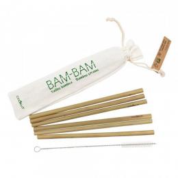 Pailles réutilisables 100% naturelles en bambou bio Cookut