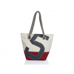 Sac à main Legende rouge/gris - 727 Sailbags