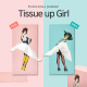 Boite à mouchoirs Tissue Up Girl