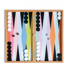 Backgammon multicolore Remember