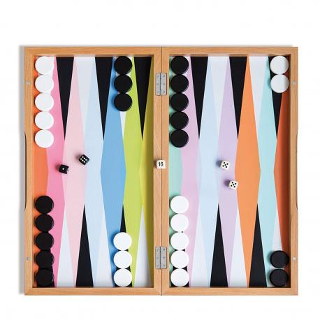 Backgammon multicolore Remember