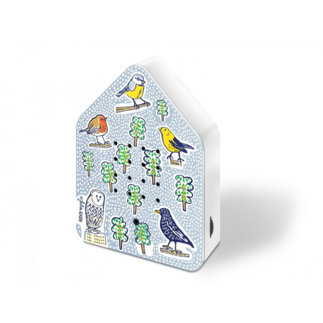 Boite musicale chant d'oiseaux Zwitscherbox - Birds
