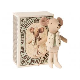 Souris danseur dans sa boîte Maileg