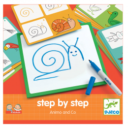 Step by Step - Animals & Co - Djeco