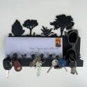 Porte clés mural Auguste - Michèle Bonte