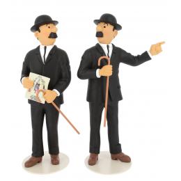 Dupont et Dupond - collection musée imaginaire - Tintin Moulinsart