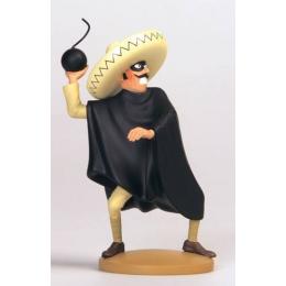 Figurine Tintin - Caporal Diaz maladroit - Moulinsart