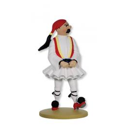 Figurine Tintin - Dupont syldave  - Moulinsart