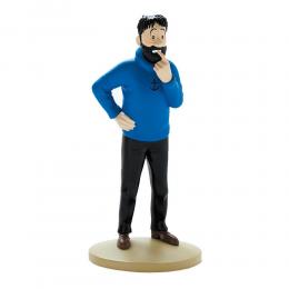 Figurine Tintin - Haddock dubitatif  - Moulinsart