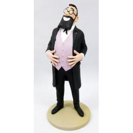 Figurine Tintin - Le professeur Bergamotte  - Moulinsart
