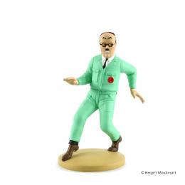 Figurine Tintin - Wolff ingenieur - Moulinsart