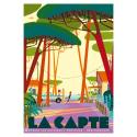 """Affiche tirage d'Art """"La Capte"""" Monsieur Z. Edition limitée !"""