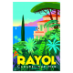 "Affiche tirage d'Art ""Rayol"" Monsieur Z."