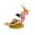 Figurine Tintin - Dupont baigneur - Moulinsart