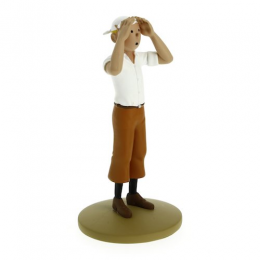 Figurine Tintin dans le désert - Moulinsart