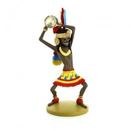 Figurine Tintin - la momie de Rascar Capac - Moulinsart