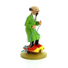 Figurine Tintin - Tournesol en patins - Moulinsart