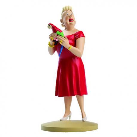 Figurine Tintin - la Castafiore - Moulinsart